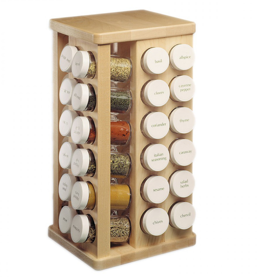 Countertop Spice Rack Plans : More Ways to End Spice Storage Madness - Core77