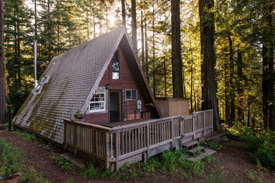 Small A Frame Cabins Part - 50: Tiny House Alternative: The Tiny A-Frame Cabin