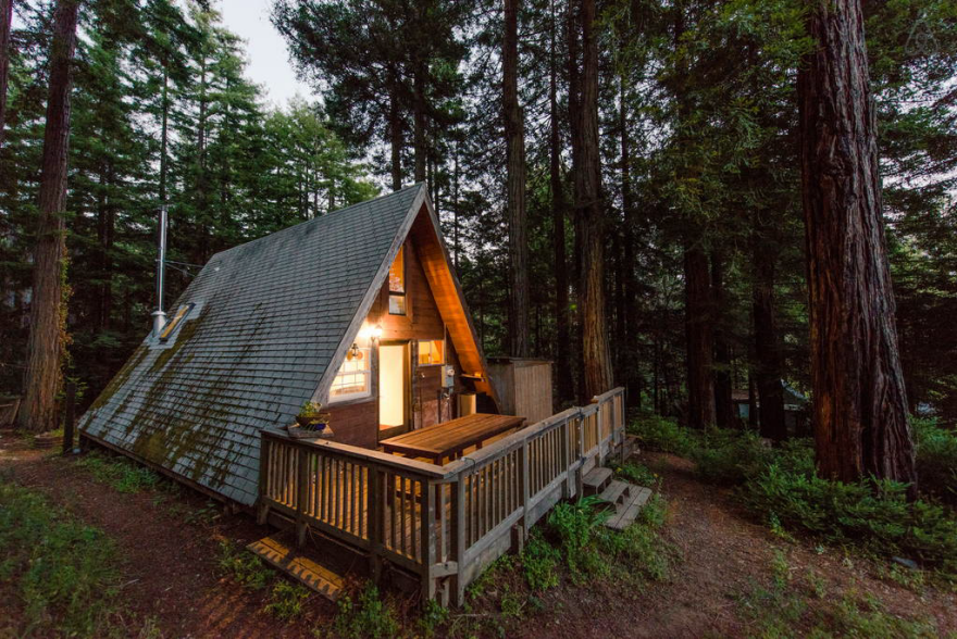 Tiny House Alternative: The Tiny A-Frame Cabin - Core77