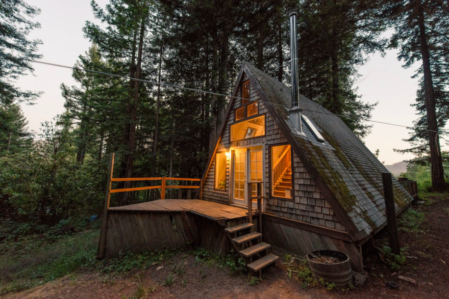 tiny house alternative the tiny a frame cabin core77