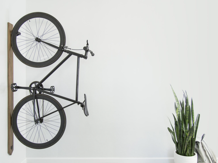 How To Hang Bike On Wall 9 ways to store a bike indoors - core77