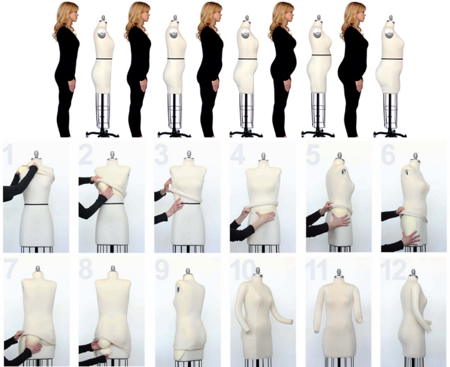 Video Of Awesome Shape Shifting Mannequins For Fashion
