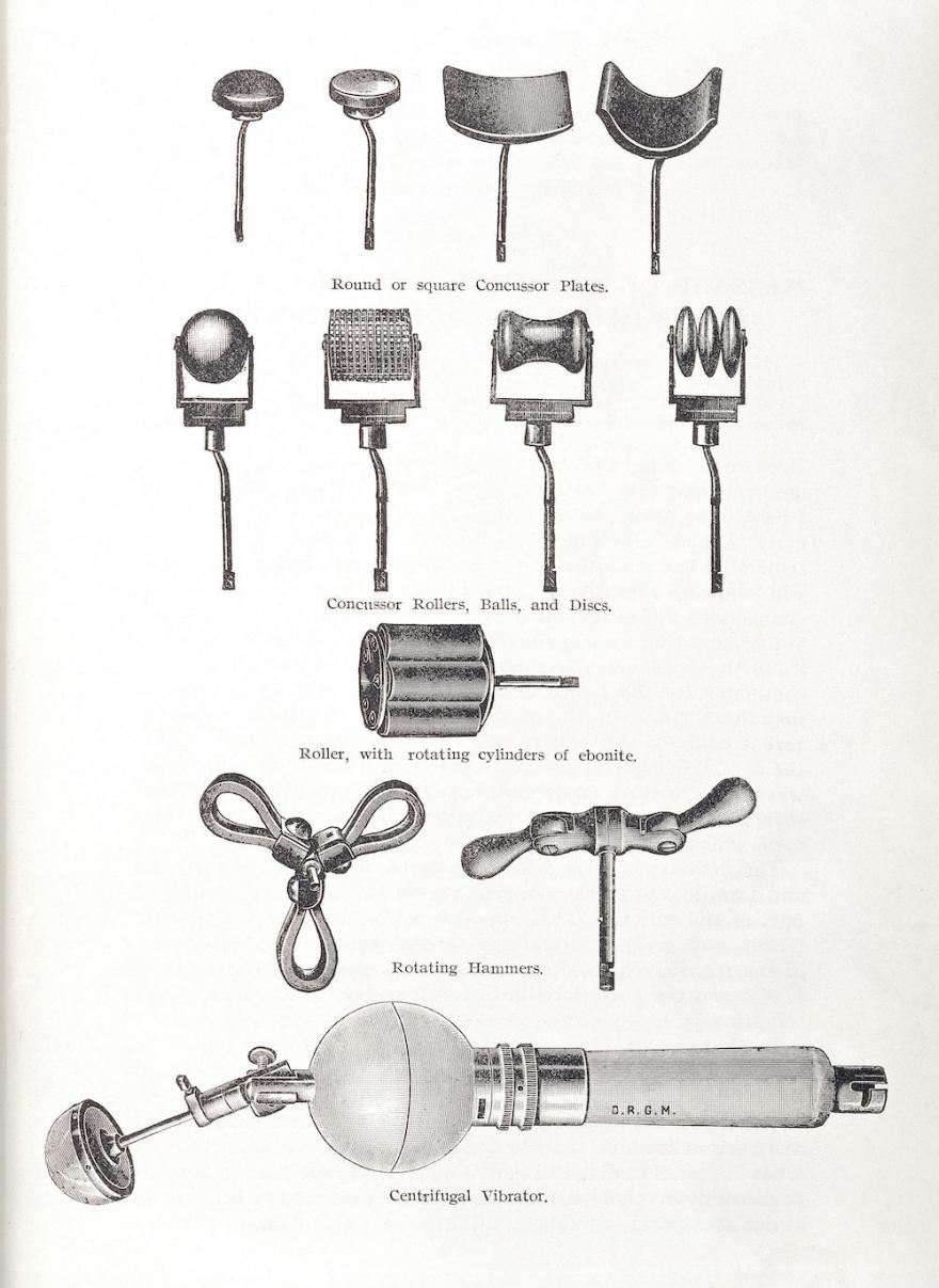 Steam powered dildos 1891