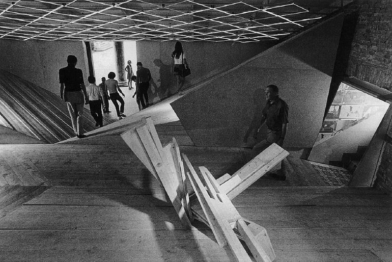 Claude parent s vision for a tilted world unhinged group for Architecture oblique