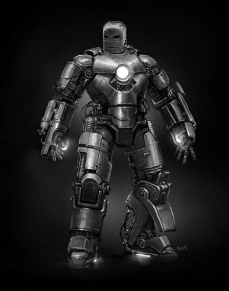 The Mark 1 Iron Man suit - Core77