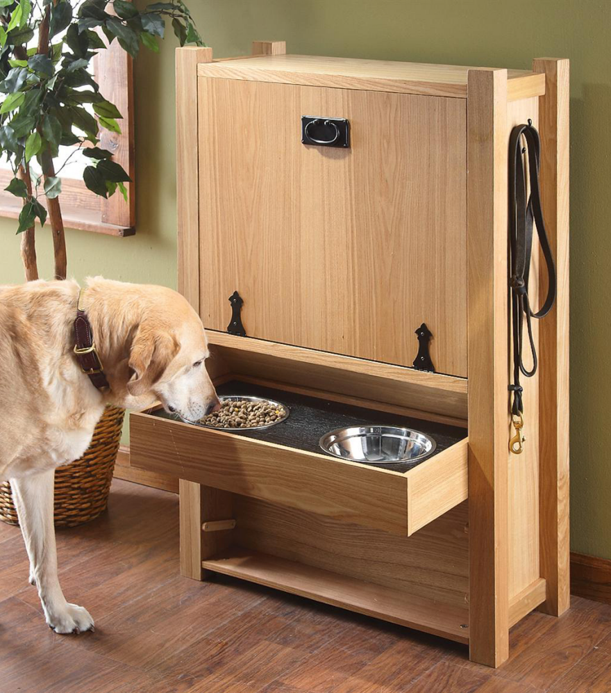 Storage Furniture, Feeders and Toy Organizing Solutions for Pet Owners ...