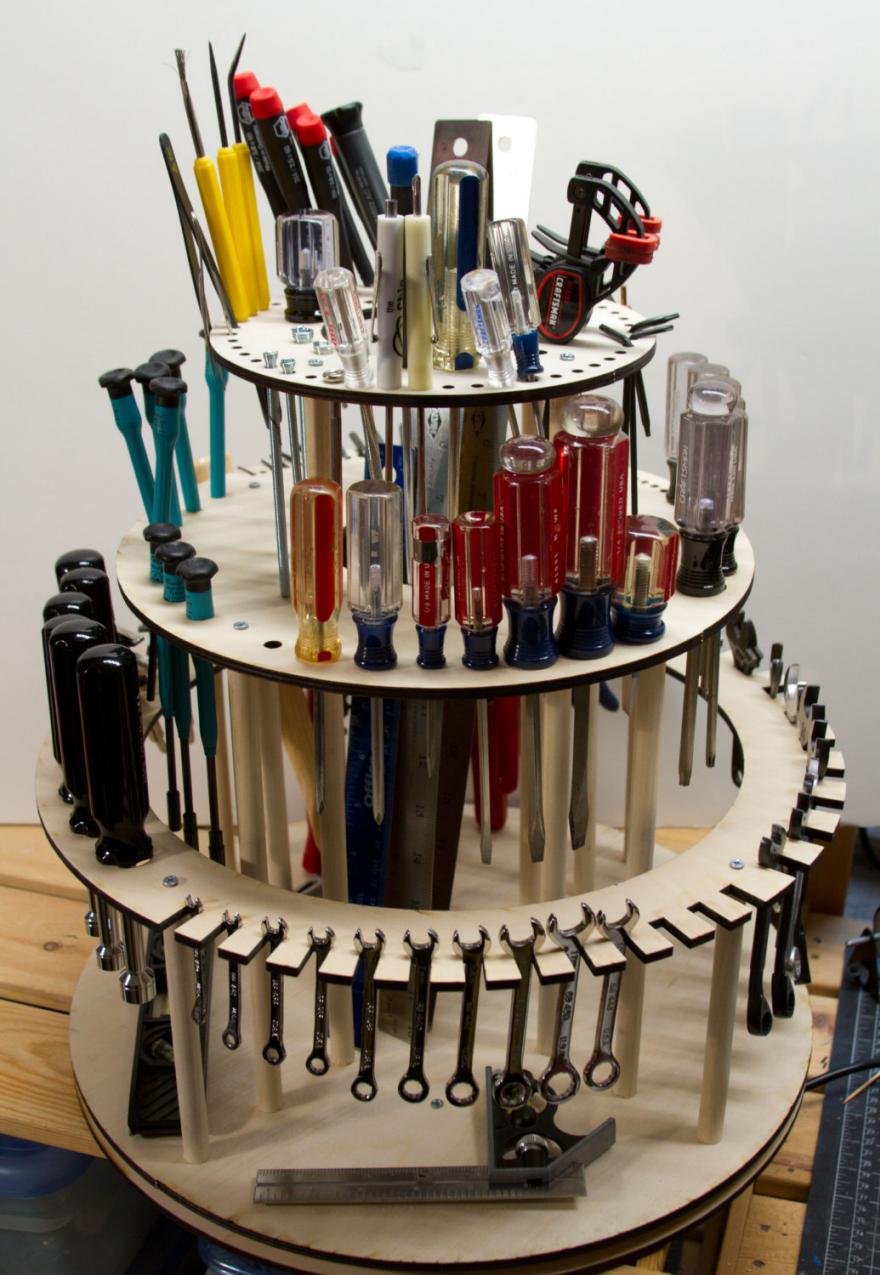What goes around lazy susans and more rotating storage - Organizador de herramientas ...