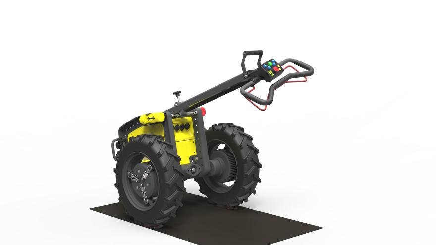 Tractor Wheels Concept : Ox by william van beek core design awards