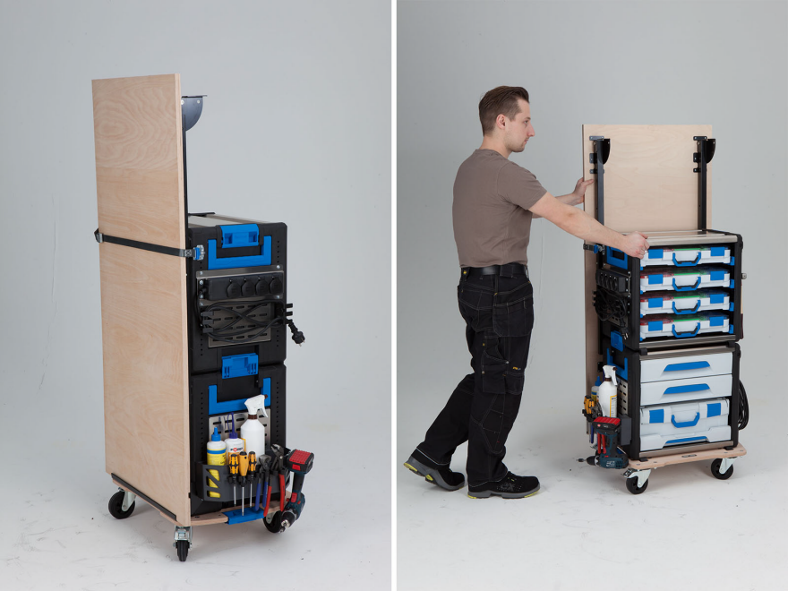 The Workmo Portable Workbench System Core77
