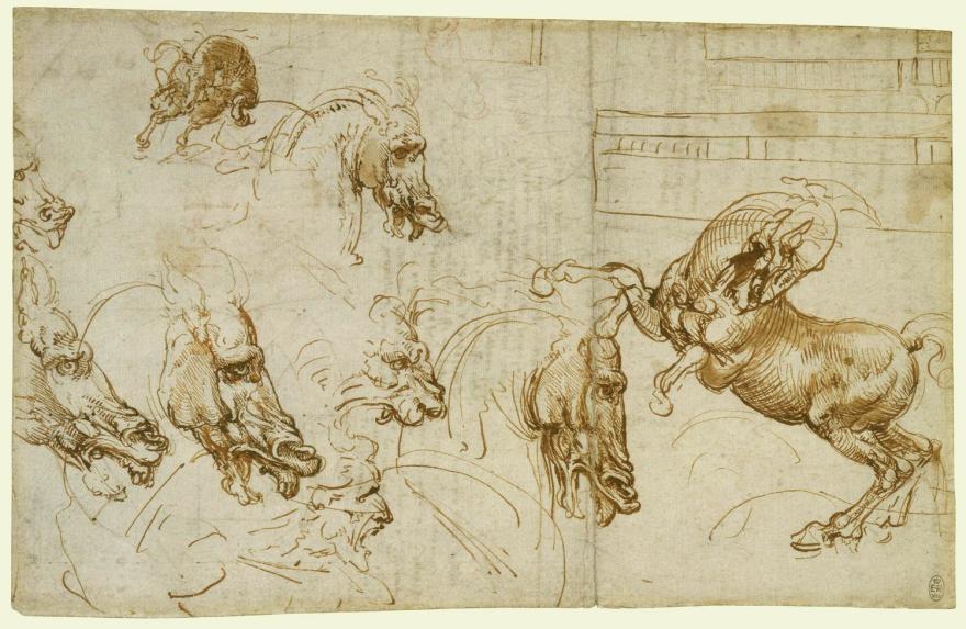 What Utensils Did Leonardo Da Vinci Draw With Core77