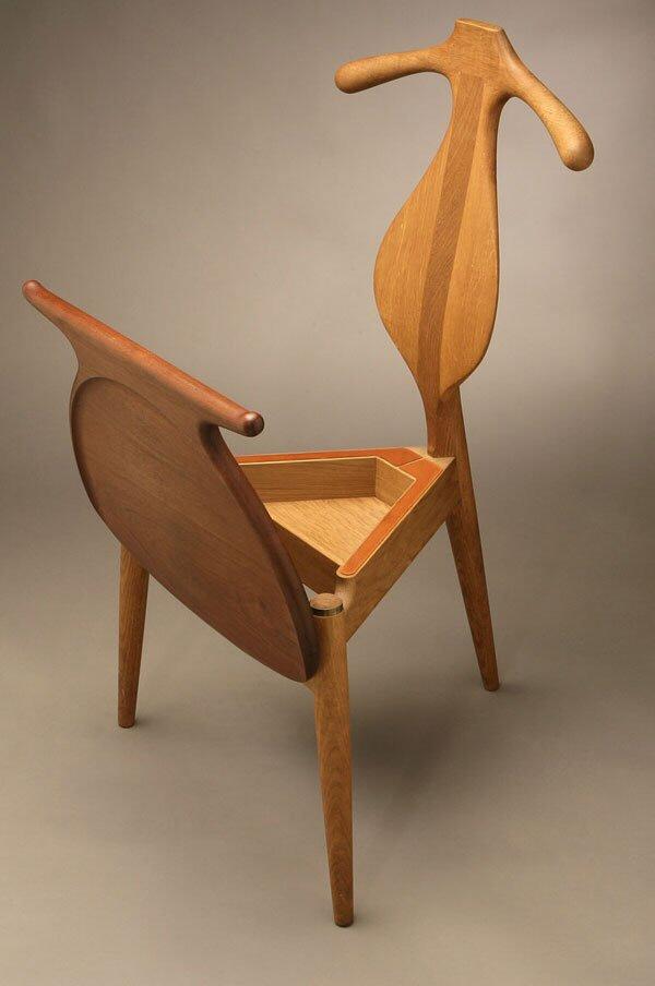 classic practical furniture design hans valet chair