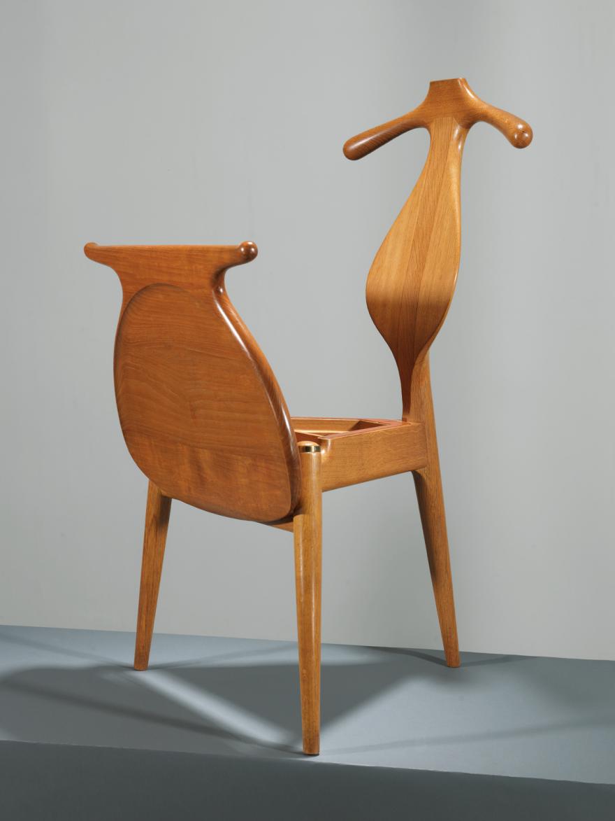 Classic practical furniture design hans wegner 39 s valet chair core77 - Hans wegner style chair ...