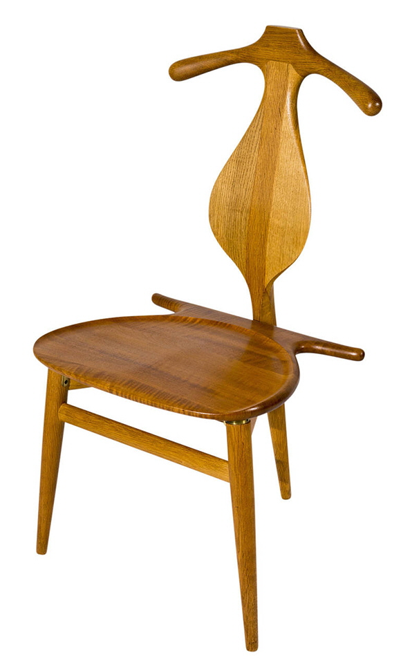 classic practical furniture design hans valet chair