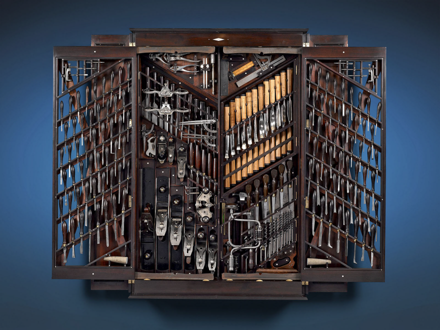 This Is What A 150 000 Antique Tool Storage Case Looks Like