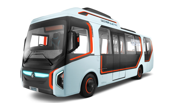 India s SMART City Plans Spawn Innovative Ultra Electric Bus Concept from TATA