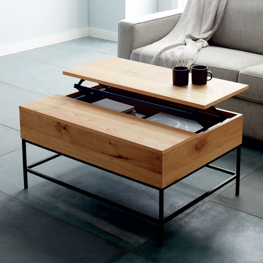 10 coffee tables designed for storage core77. Black Bedroom Furniture Sets. Home Design Ideas