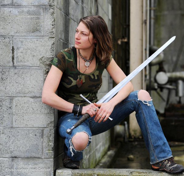 Swords & Armor, Plasma Rifles & Exoskeletons: The Work of Modelmaker Shari Finn