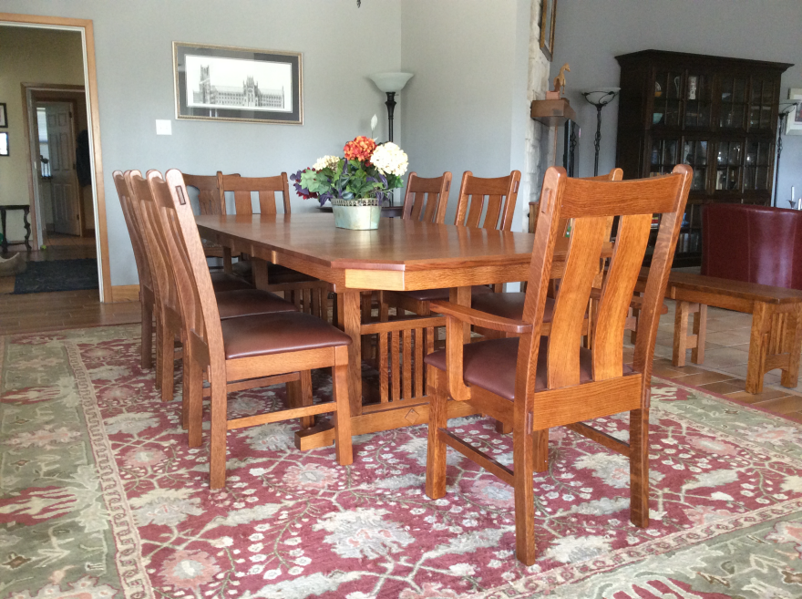 red dining room table an introduction to wood species part 21 red oak core77