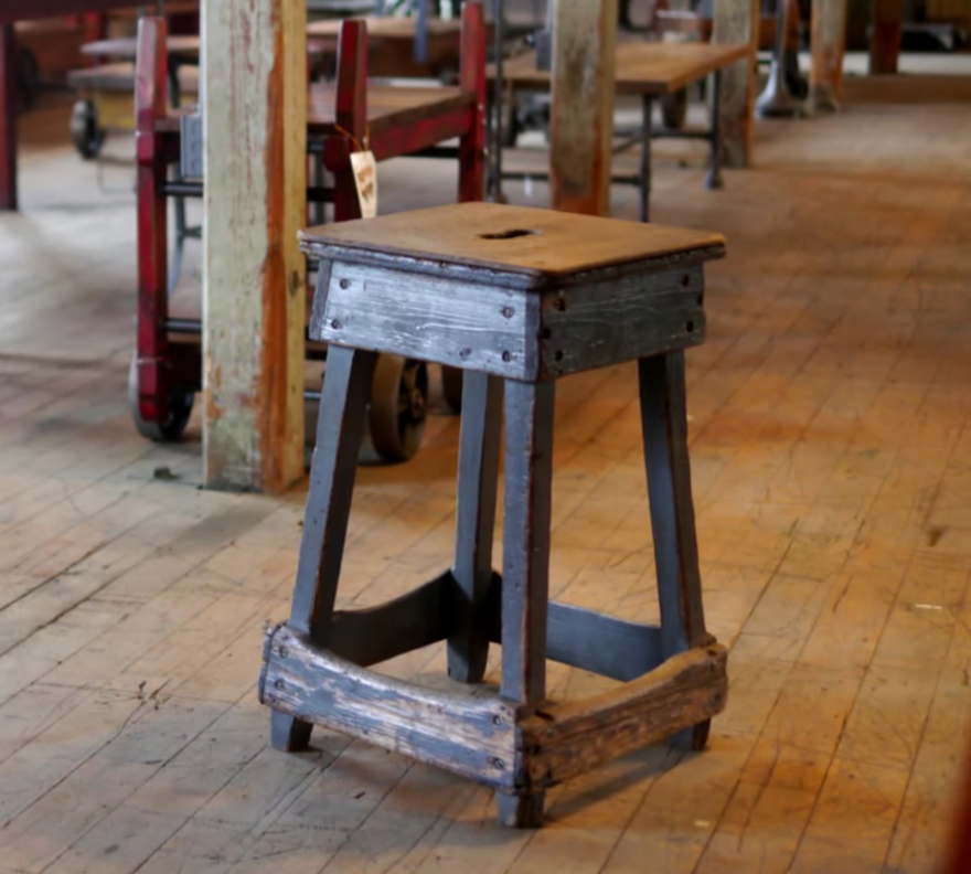 In Appreciation of Vintage Industrial Stools and Their Early Ergonomics : industrial stool vintage - islam-shia.org