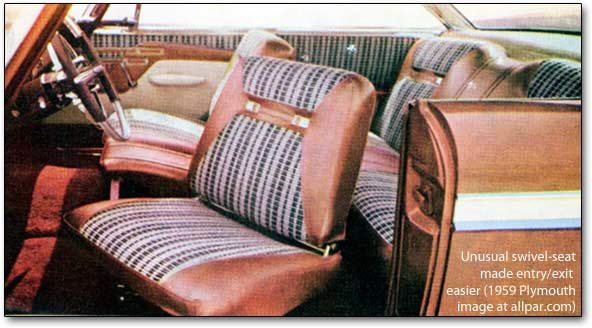 Cars Used to Have Swiveling Front Seats to Make Them ...
