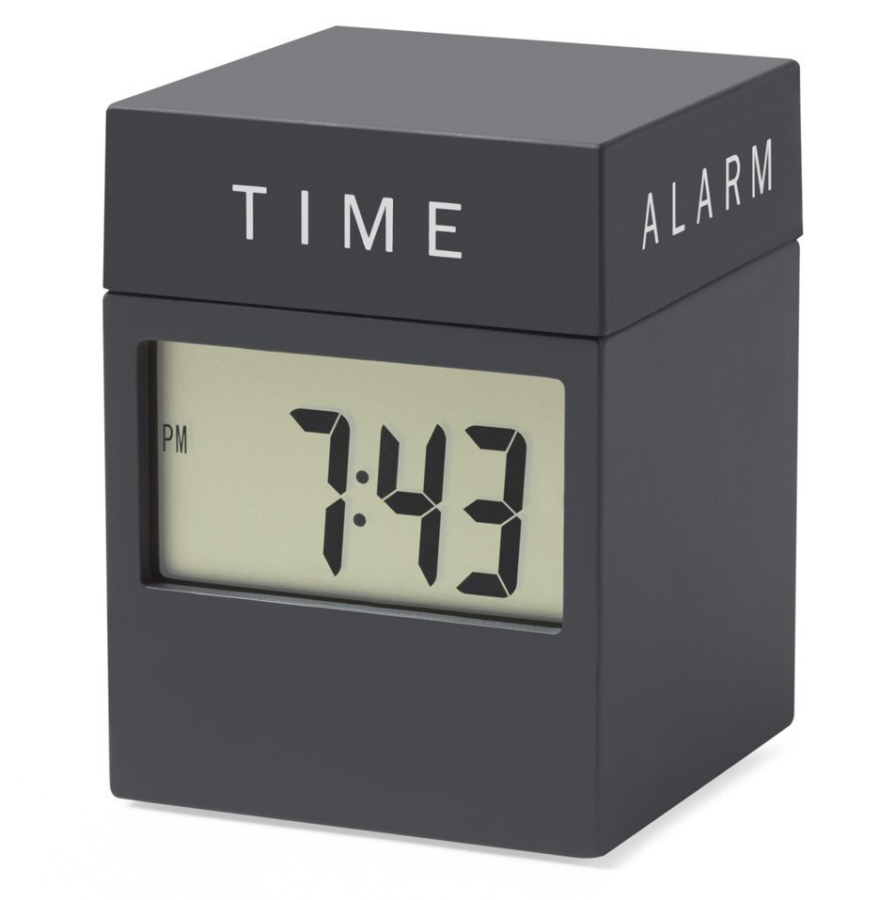 Superb 9 Alarm Clocks To Help You Wake Up And Get Going   Core77