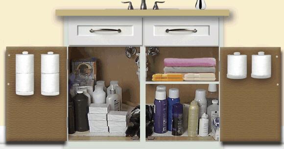 12 Ways To Organize Spare Toilet Paper