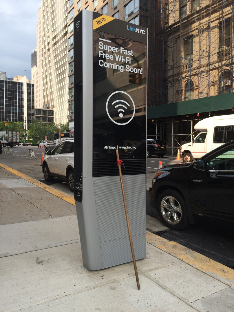 The Unintended Consequences of Providing Free WiFi Kiosks in NYC