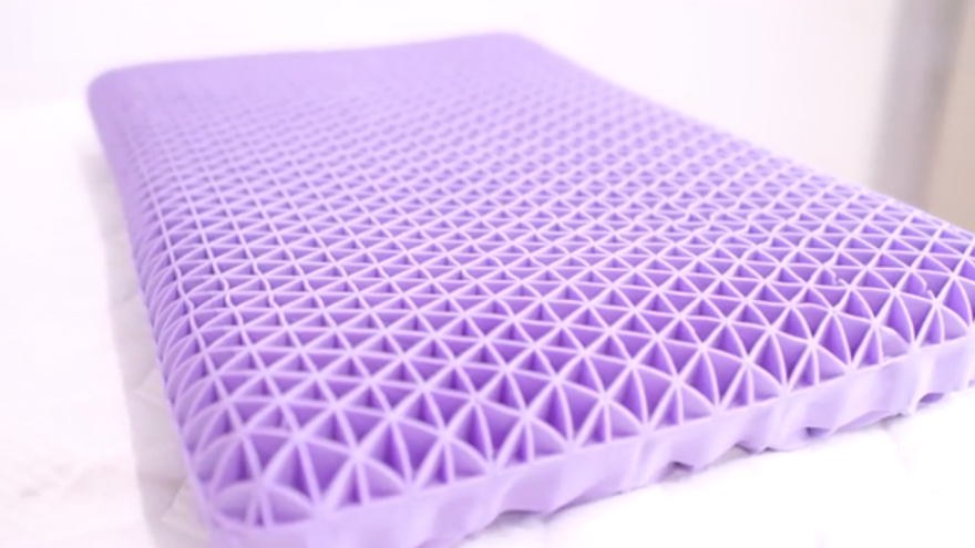 A Purple Attempt to Reinvent the Pillow - Core77
