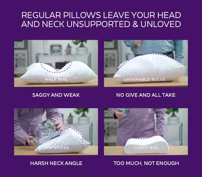 sleep purple of in dream inside sherpa review the pillow