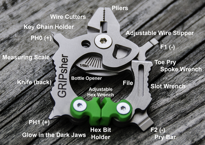 MIT Engineer/Army Vet Designs Clever Multitool Loaded with Useful Features