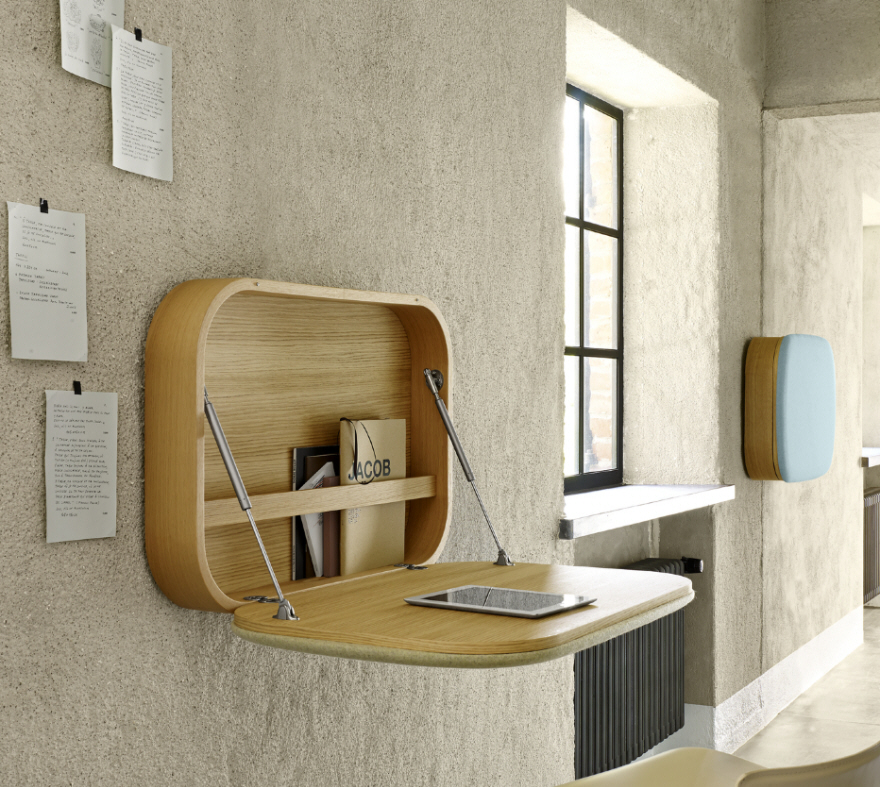Get To Work At These 9 Wall Mounted Desks