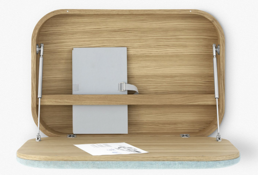 get to work at these 9 wallmounted desks