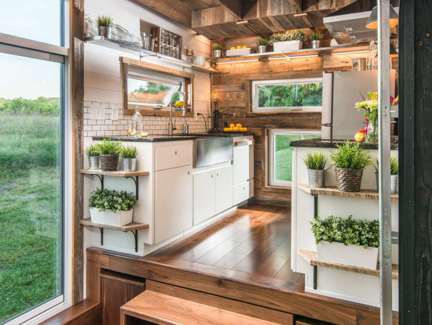 Check Out The Features Of A $95,000 Luxury Tiny House   Core77