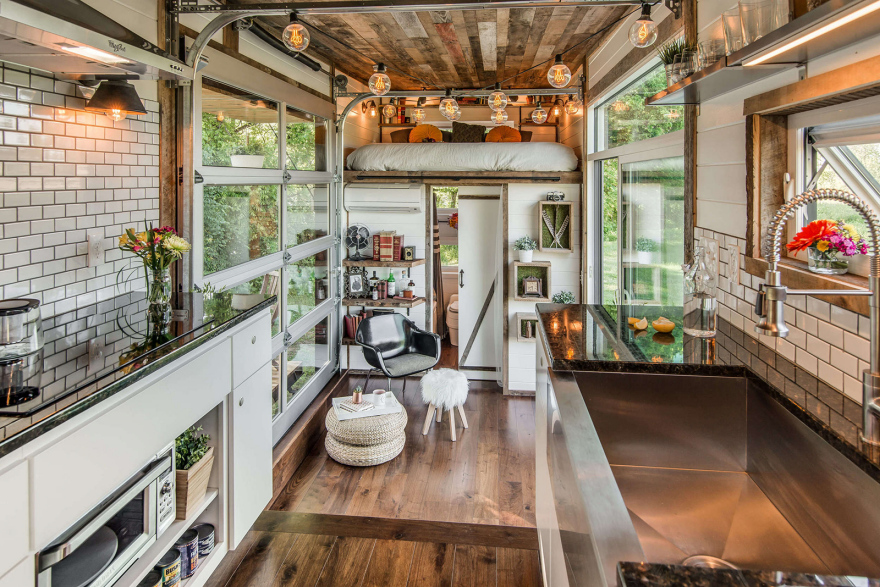 check out the features of a 95000 luxury tiny house