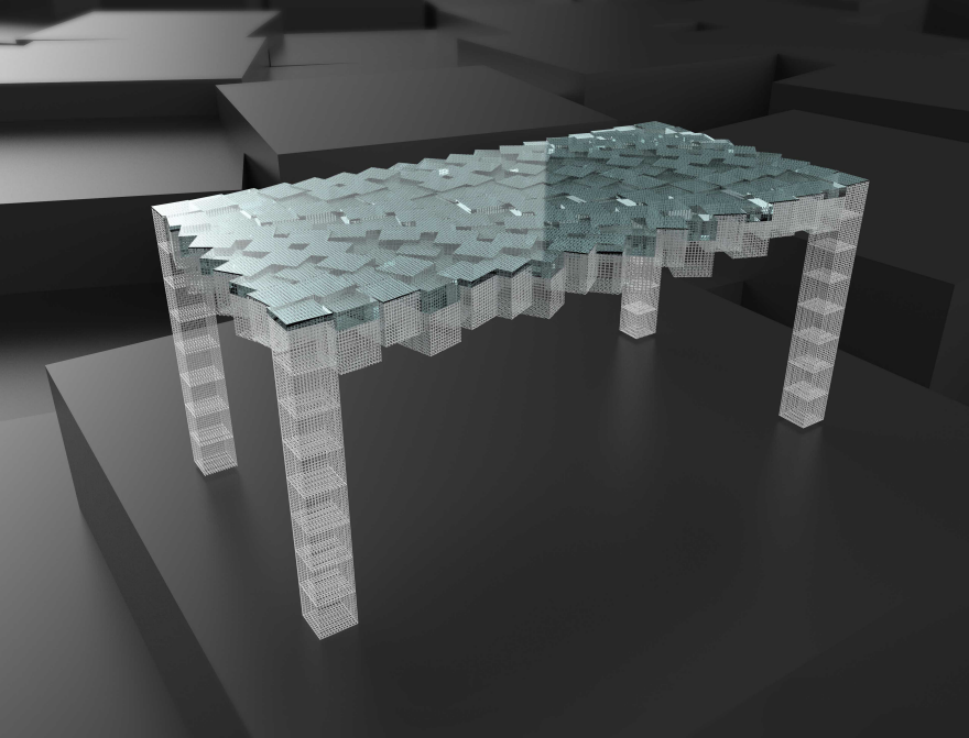 Luxury The Entropy Table Explores Complex Modular D Printed Furniture Options