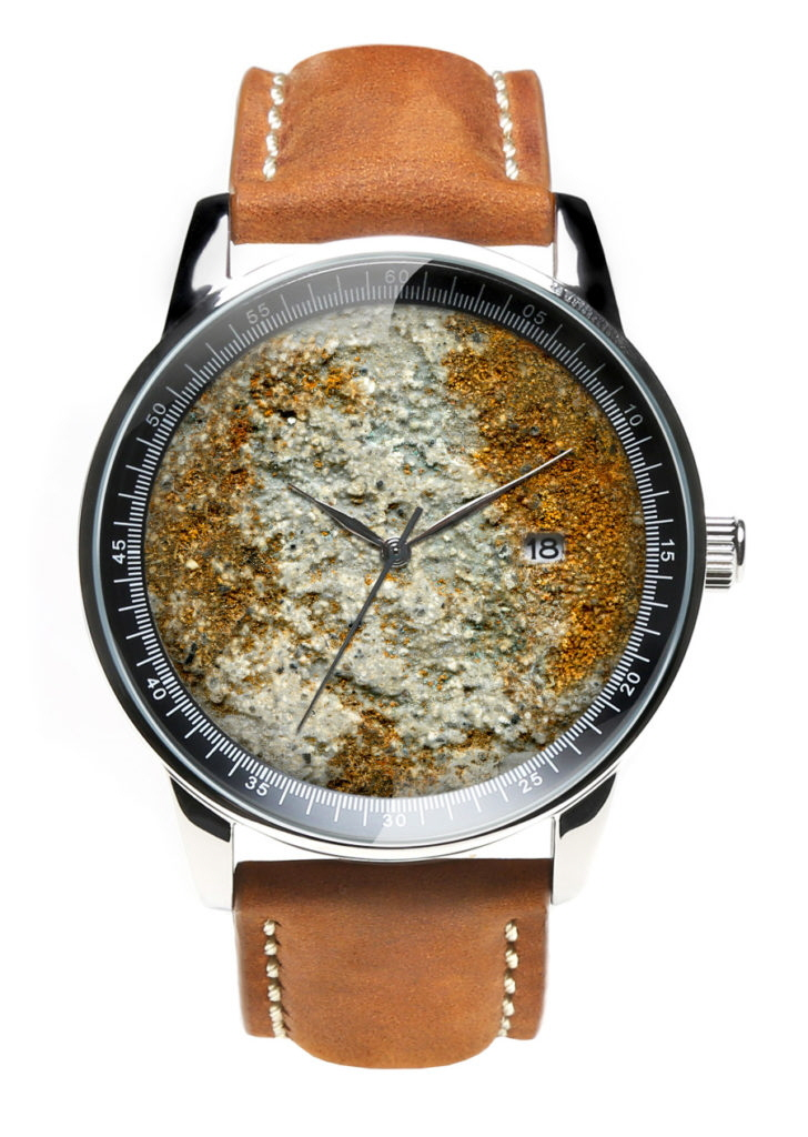Watches Made from Concrete and Rust