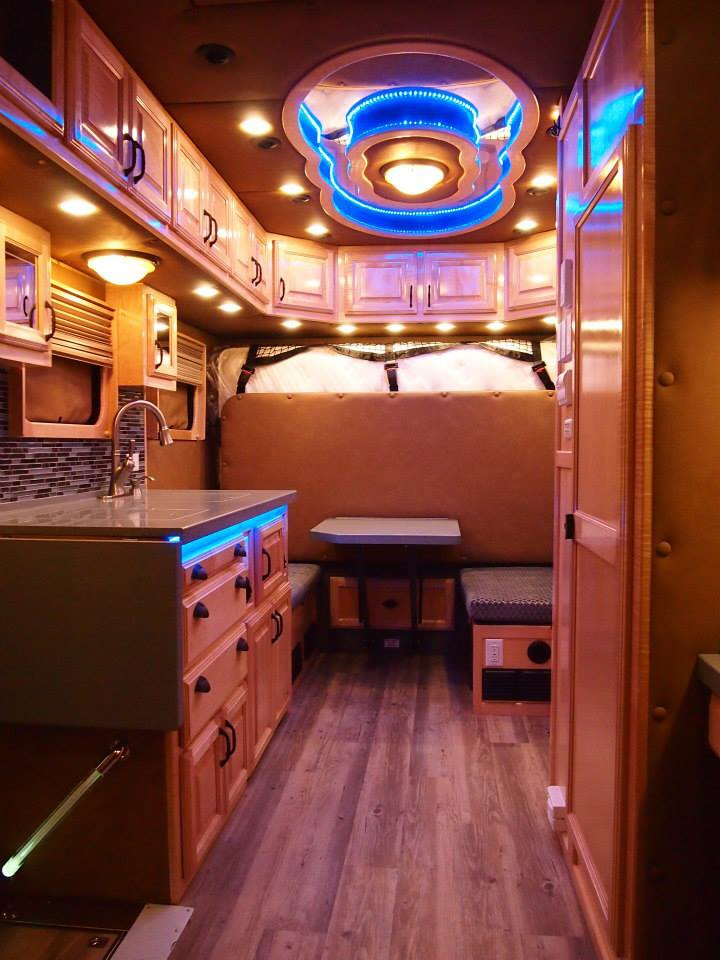 What do luxury sleeper cabs for long haul truck drivers look like core77 for Custom truck interior design