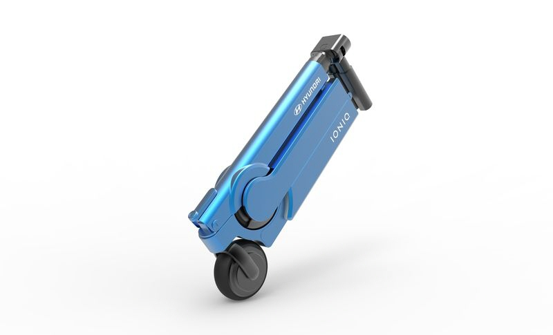 Hyundai s Teased Electric Scooter Is A Cool Final Mile Concept