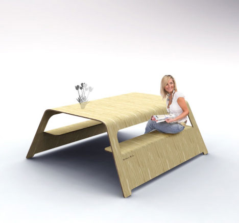 picnic bench design