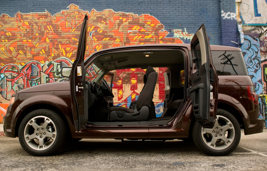 Enter a caption (optional). Our Honda Element ...