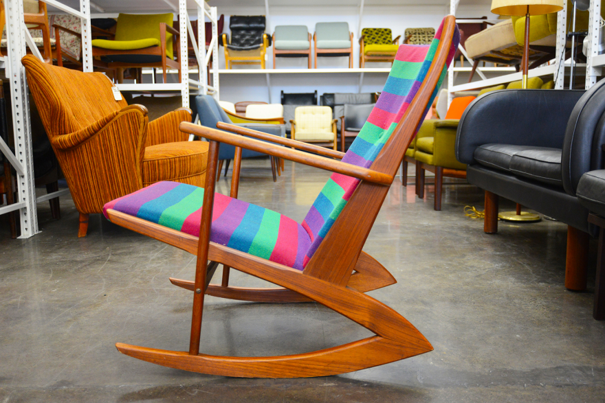Mid Century Modern Find of the Week: Candy-Striped Model 97 Ro...