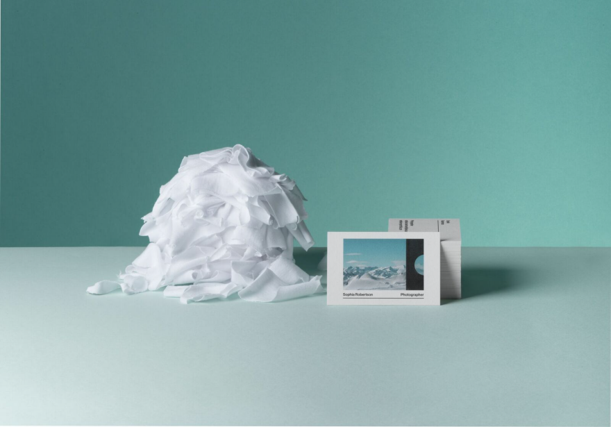 MOO Announces Business Cards Made from Cotton T-Shirts - Core77