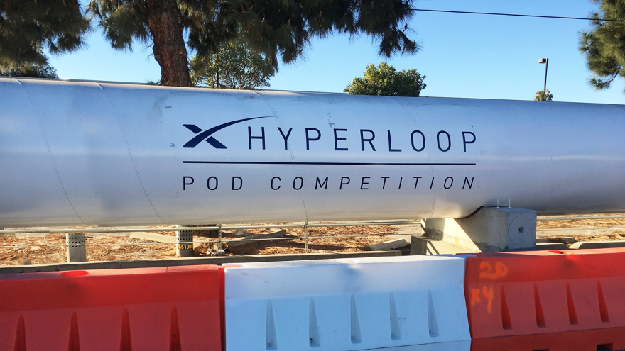 Hyperloop pod breaks own high-speed record