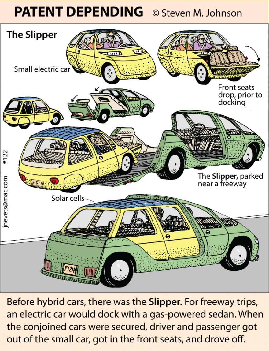 Steven M. Johnson\'s Bizarre Invention #122: The Slipper, a Hybrid ...