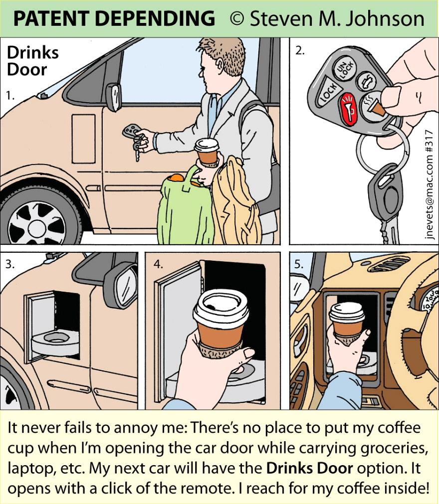 Steven M. Johnson s Bizarre Invention #317: The Drinks Door