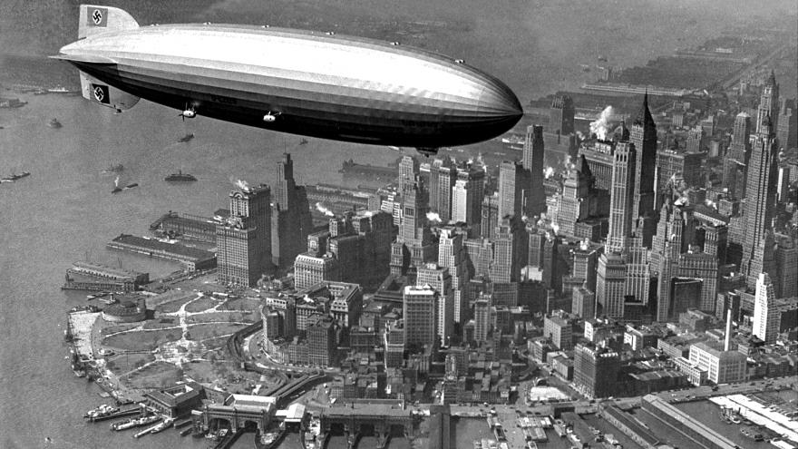 Itu0027s Bizarre Seeing The Swastika Flying Over New York City. 1937, Folks.