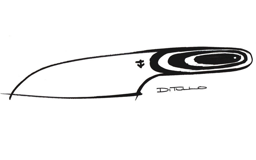 Introducing the Layer Knife, Designed for Leucadia by Michael DiTullo