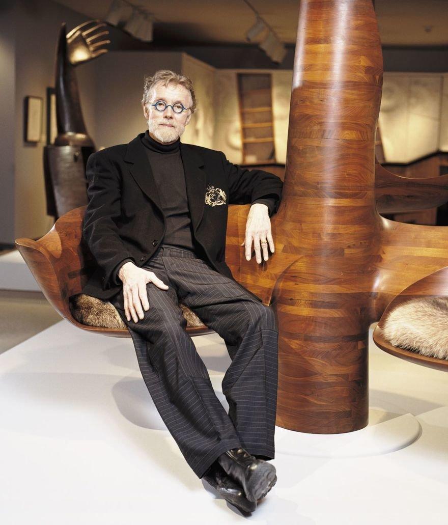 Wendell Castle, Inimitable Furniture Designer, Builder, Educator and Craftsman, Passes Away