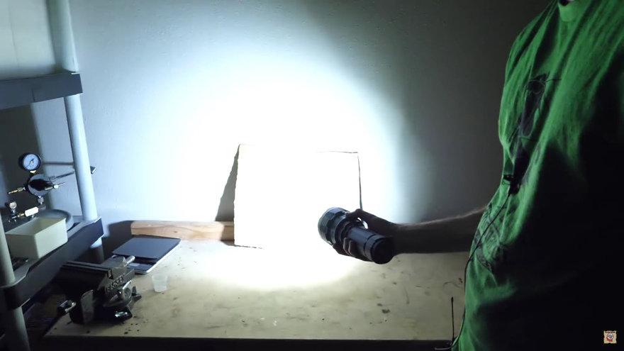This Paint Can Store and Give Off Light for 12 Hours!