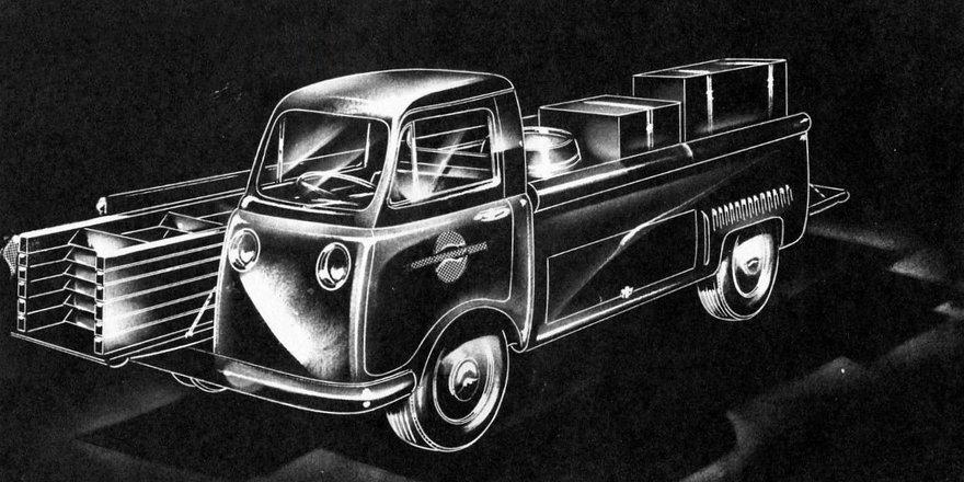 Auto Design Sketch Challenge Results: Completing Preston Tucker s Split-Cab Pickup Truck Concept